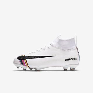 Nike Jr. Superfly 6 Elite LVL UP FG Fodboldstøvle til græs til små/store børn
