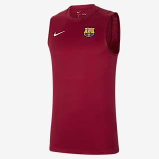 FC Barcelona Strike Ärmelloses Herren-Fußballoberteil