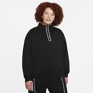 Nike Sportswear Icon Clash Women's 1/2-Zip Top (Plus Size)