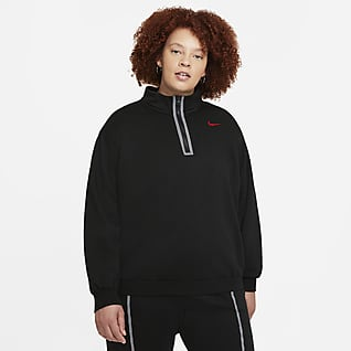 Nike Sportswear Icon Clash Prenda para la parte superior con medio cierre para mujer