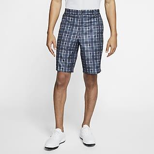 Nike Flex Shorts de golf a cuadros para hombre