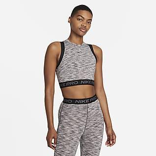 Nike Pro Γυναικείο φανελάκι με εφέ space-dye