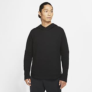Nike Yoga Nomad เสื้อมีฮู้ดผู้ชายแบบสวม