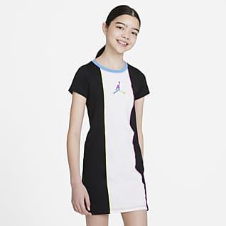 Jordan Tričkové šaty pro větší děti (dívky)