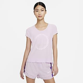 Nike Icon Clash Miler 女款短袖跑步上衣
