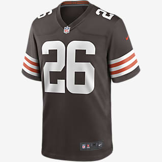 NFL Cleveland Browns (Greedy Williams) Men's Game Football Jersey