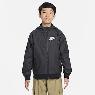 Nike Sportswear Windrunner Kabát nagyobb gyerekeknek (fiúk)