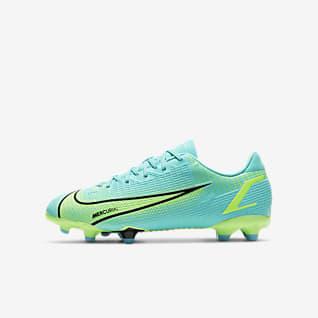 Nike Jr. Mercurial Vapor 14 Academy FG/MG Fotbollssko för varierat underlag för barn/ungdom