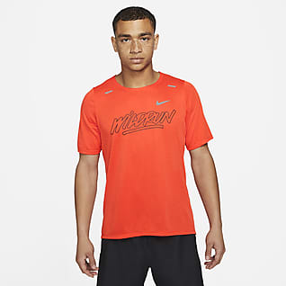 Nike Rise 365 Wild Run Camiseta de running de manga corta para hombre