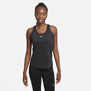 Nike Dri-FIT One Linne med smal passform för kvinnor