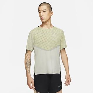 Nike Dri-FIT ADV Run Division Techknit เสื้อแขนสั้นผู้ชาย