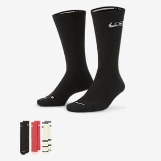 Nike SB Everyday Max Lightweight Skate Crew Socks (3 Pairs)