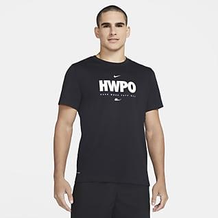 """Nike Dri-FIT """"HWPO"""" T-shirt de treino para homem"""