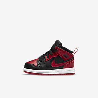 Jordan 1 Mid Infant/Toddler Shoe