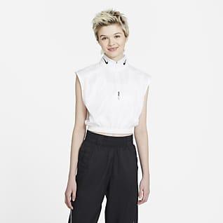 Nike Sportswear Part superior amb mitja cremallera sense mànigues - Dona