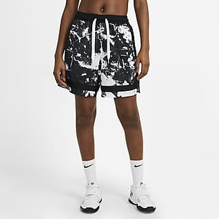 Nike Swoosh Fly Γυναικείο εμπριμέ σορτς μπάσκετ