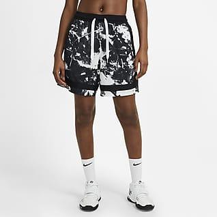 Nike Swoosh Fly Damen-Basketballshorts mit Print