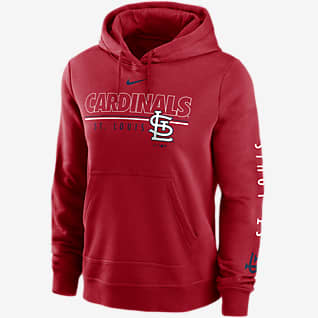 Nike Outline Club (MLB St. Louis Cardinals) Women's Pullover Hoodie