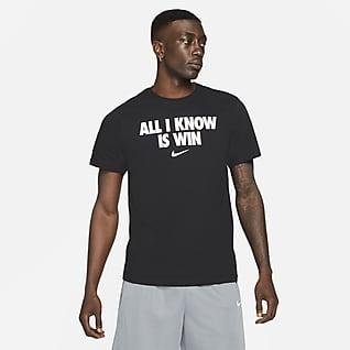 "Nike ""All I Know Is Win"" Playera de básquetbol para hombre"