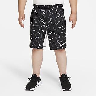 Nike Dri-FIT Treningsshorts til store barn (gutt) (utvidet størrelse)