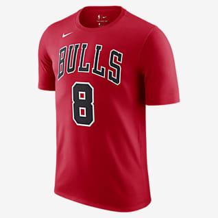 Zach LaVine Bulls Nike NBA-T-Shirt für Herren