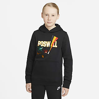Nike Sportswear Club Fleece Big Kids' (Boys') Pullover Hoodie