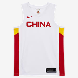 Chine (Home) Maillot de basketball pour Homme