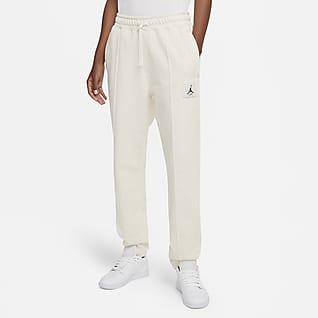Jordan Essentials Calças de lã cardada para mulher