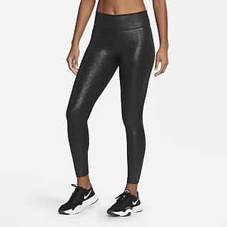 Nike One Tights a 7/8 con stampa Sparkle - Donna