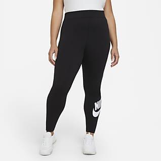 Nike Sportswear Essential Magas derekú női leggings (plus size méret)