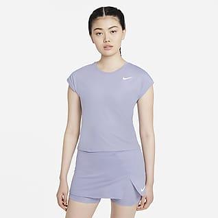 NikeCourt Dri-FIT Victory เสื้อเทนนิสแขนสั้นผู้หญิง