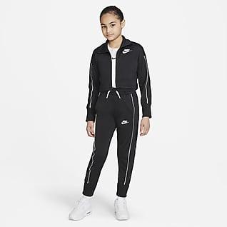 Nike Sportswear Спортивный костюм с брюками с высокой посадкой для девочек школьного возраста
