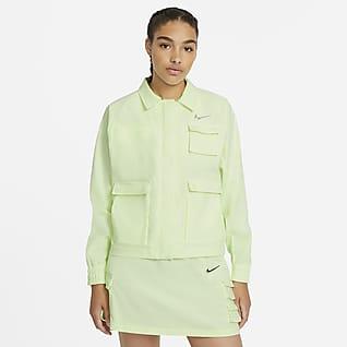 Nike Sportswear Swoosh Γυναικείο υφαντό τζάκετ