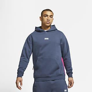 Nike F.C. Męska dzianinowa bluza piłkarska z kapturem