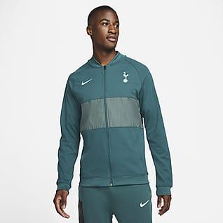 Tottenham Hotspur Męska kurtka piłkarska z zamkiem na całej długości