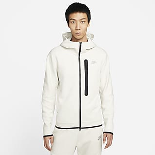Nike Sportswear Tech Fleece เสื้อมีฮู้ดซิปยาวผู้ชาย