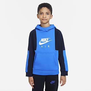 Nike Air Pullover-hættetrøje til større børn (drenge)