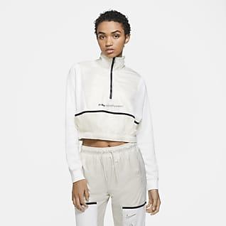 Nike Sportswear Sudadera con cierre de 1/4 para mujer