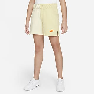 Nike Sportswear Older Kids' (Girls') French Terry Shorts