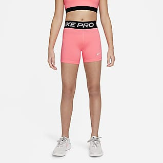 Nike Pro Shorts para niña talla grande