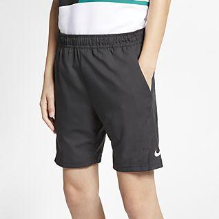 NikeCourt Dri-FIT Σορτς τένις για μεγάλα αγόρια