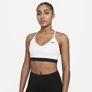 Nike Indy Polstret sports-BH med lett støtte til dame