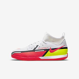 Nike Jr. Phantom GT2 Academy Dynamic Fit IC Little/Big Kids' Indoor/Court Soccer Shoe