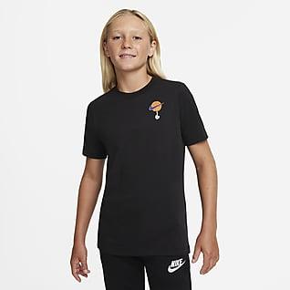 Nike Dri-FIT x Space Jam: A New Legacy Trenings-T-skjorte til store barn