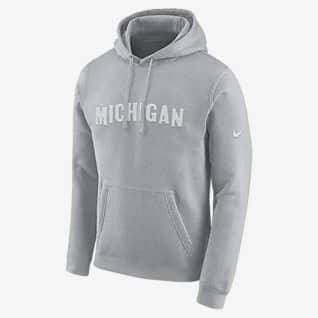 Nike College (Michigan) Sudadera con gorro para hombre