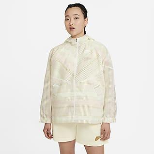 Nike Sportswear Windrunner เสื้อผู้หญิงมีซิป