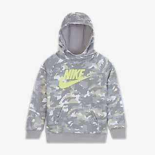 Nike Felpa pullover con cappuccio - Bimbi piccoli