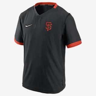 Nike Hot (MLB San Francisco Giants) Men's Short-Sleeve Jacket