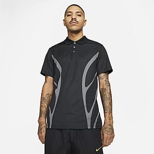 NOCTA 高爾夫 男款印製圖樣有領衫