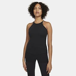Nike Yoga Pointelle เสื้อกล้ามผู้หญิง